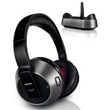 PHILIPS Frequency Cordless Headphone [SHC 8535] - Headphone Full Size